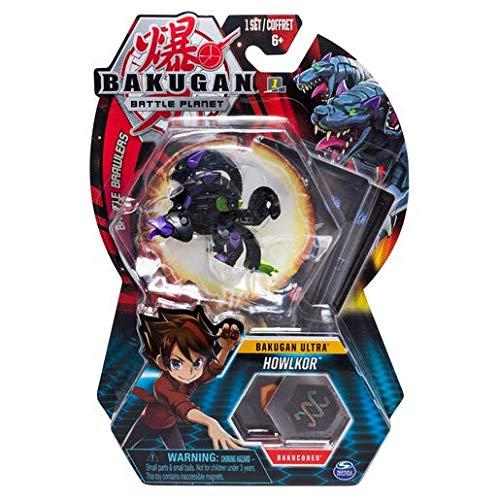 BAKUGAN Spin Master Battle Planet - Howlkor - 8cm Ultra Battle Brawlers und Sammelkarte