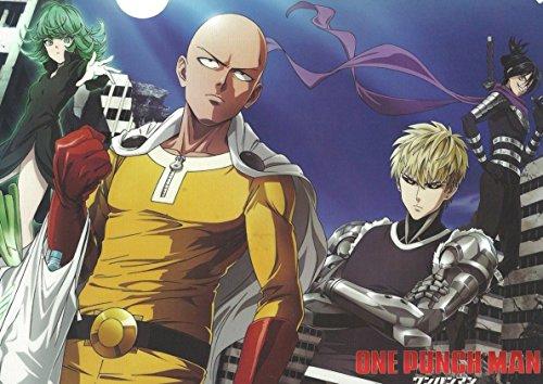 Poster One Punch Man - Saitama A3 (42x29 cm) F