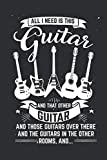 World's Okayest Guitar Player: Journal for Guitar Players
