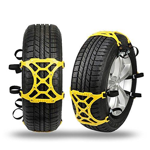 Automotive-catene-da-neve-pneumatico-antiscivolo-set-di-6-catene-da-neve-con-guanti-da-montare-per-gomme-auto