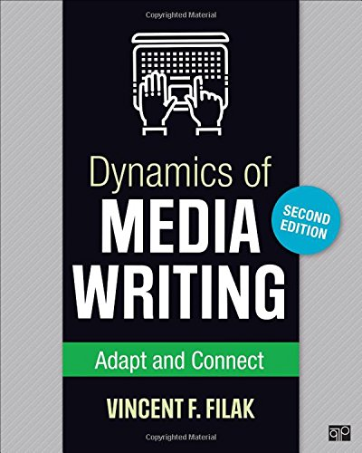 Dynamics of Media Writing: Adapt and Connect
