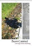 Buen Camino - Unterwegs auf dem Jakobsweg (Wandkalender 2020 DIN A3 hoch): Natur und Landschaft in Nordspanien (Monatskalender, 14 Seiten ) (CALVENDO Natur) -