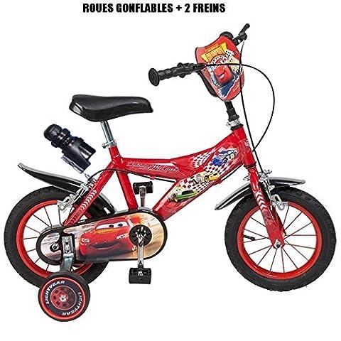 Velo Cars 12 - Vélo officiel Cars 12 pouces Disney enfant