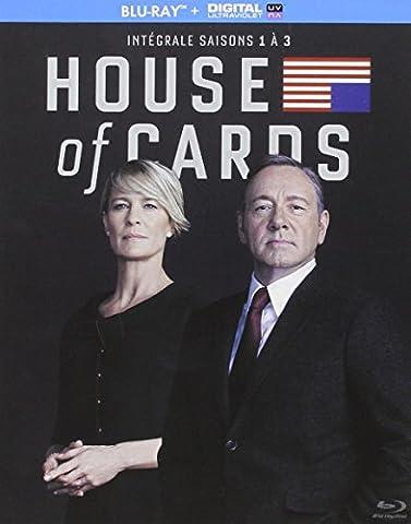 House of Cards - Intégrale saisons 1-2-3 [Blu-ray + Copie digitale]