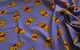 CRS Fur Fabrics 100% Baumwolle Stoff Material Disney Winnie
