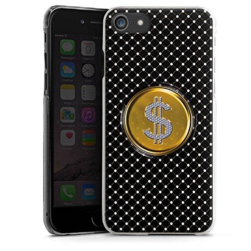 Apple iPhone X Silikon Hülle Case Schutzhülle Dollar Geld Punkte Hard Case transparent