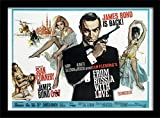 Pyramid International Druck gerahmt James Bond from Russia with Love 1