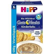 Hipp Kinderkeks buenas noches avena - a partir de 6 meses, 500 g, 4-pack (4 x 500g)