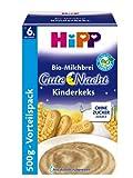 HiPP Gute-Nacht-Brei Kinderkeks, 4er Pack (4 x 500 g)