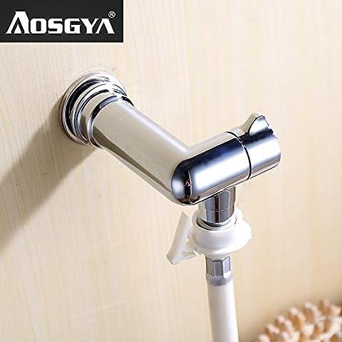Qwer Les robinets mélangeurs Lave-linge balcon Piscine Mops Raccords dans Wall 4 Buse à jet d'eau