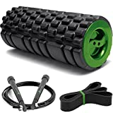 Massagerolle Fitness Massage - Set: 3 in 1 Schaumstoffrolle zur