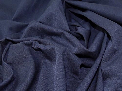 Gabardine Twill passend Kleid Stoff, Marineblau, Meterware (Navy Gabardine)