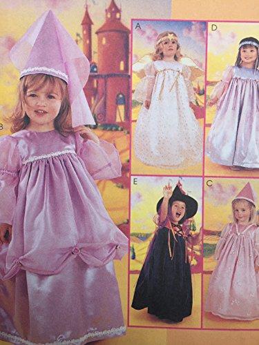 McCall 's Schnittmuster 2434Mädchen Kinder Pretty Kostüm Prinzessin Engel Größe 2, 3und (Nähen Engel Kostüme Und)