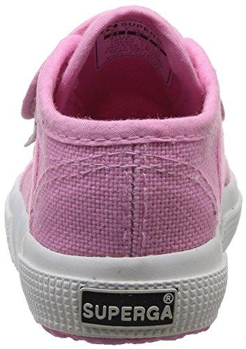 Superga 2750 Bvel, Chaussures Premiers pas mixte bébé, Bleu (933 Navy), 20 EU Rose (V28 Begonia Pink)