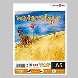 A5Aquarellpapier Torchon Oberfläche Pad Zeichnungen Künstler Papier Gummierung