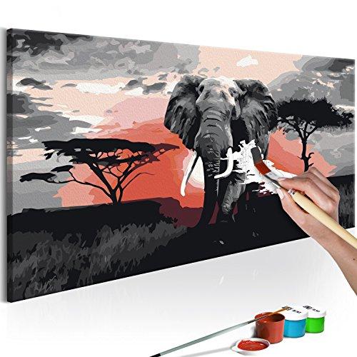 murando Afrika Elefant, 80x40cm