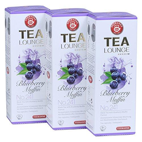 apseln - Blueberry Muffin No. 241 Schwarzer Tee (3x8 Kapseln) ()