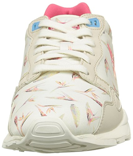 Le Coq Sportif - Lcs R900 W Bird Of Paradise, Sneaker Donna Bianco (Blanc (Marshmallow/Sky Blue))