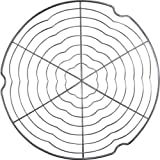 Patisse 1322 Tortenkühler 32 cm aus Edelstahl
