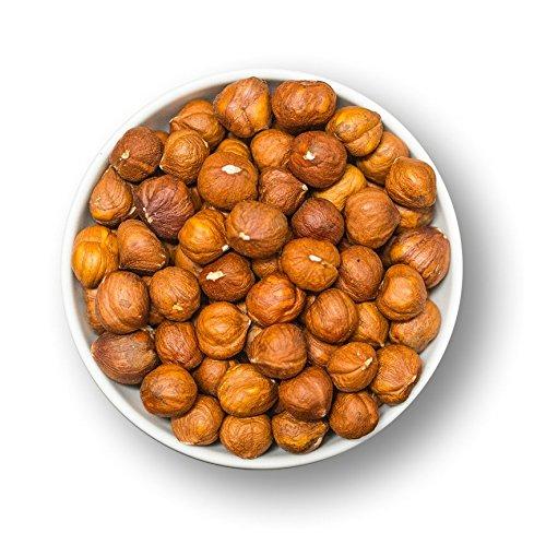 """Haselnuss Kerne mit Haut – naturbelassen - """"Premium Qualität"""" perfekt zum Backen und knabbern geeignet - 1001 Frucht - EXCLUSIVE - Nüsse - Trockenfrüchte – Gewürze"""