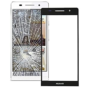 Huawei Ascend P6 Front Glas Glass Displayglas Screen + Werkzeug schwarz