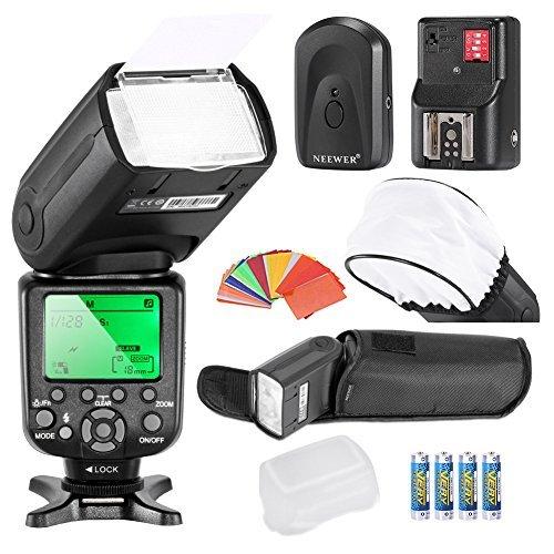 neewerr-high-speed-sync-i-ttl-camera-master-slave-flash-kit-for-nikon-d4s-d4-d3s-d800-d700-d80-d90-d