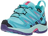 Salomon XA Pro 3D CSWP J, Zapatillas de Trail Running Unisex Niños, Azul (Blue Curacao/Eggshell Blue/Purple O 000), 26 EU