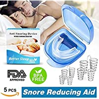 Schnarchen Lösung Stop Schnarchen Mundstück, 4 Set Anti Schnarchen Nasenschlitze Nasen Dilatatoren Nase Cones... preisvergleich bei billige-tabletten.eu