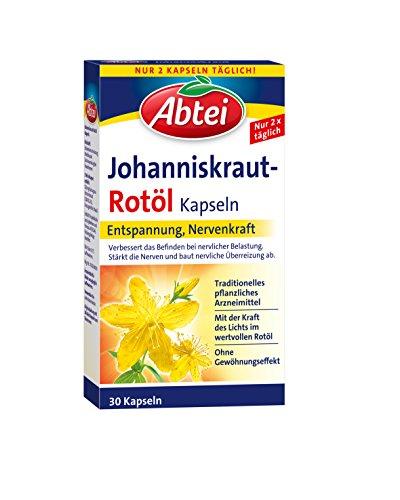 Abtei Johanniskraut Kapseln, 30 Stck, 1er Pack