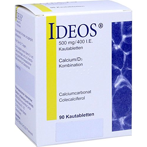 IDEOS 500 mg/400 I.E. Kautabletten 90 St -
