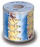 bedrucktes Toilettenpapier Santa Polonaise Box Höhe 10cm