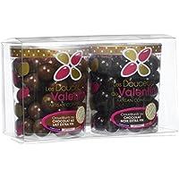 Les douceurs de Valentin Mix Croustillants pack de 2 Noir/Lait Extra Fin 300 g - Lot de 2