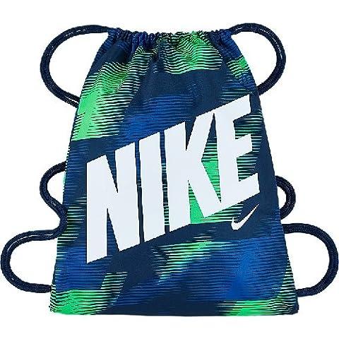 Nike Uni Graphic Gym Sack Junior Sporttasche, Blau, 68 x 40 x 20 cm