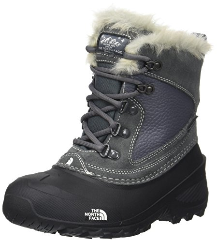 The North Face Shellista Extreme, Botas de Nieve Unisex Niños, Varios Colores (Zinc Grey/Tnf White), 38 EU