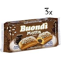 18 X Motta buondì buondi Cacao 3 x 6 cerrojo de tarta con Cacao Galletas 774