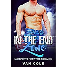 In The End Zone: M/M Sports First Time Romance (English Edition)