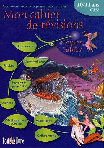 Cahier de révisions contes et fables de 10 à 11 ans