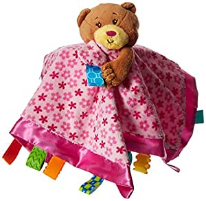 Taggies - Soothe Me Snuggles Cuddle Blanket - Ours rose