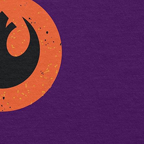 NERDO - Rebel Droid - Damen T-Shirt Violett