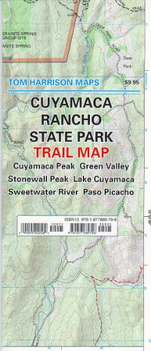 Cuyamaca Rancho State Park Trail Map (Tom Harrison Maps) -