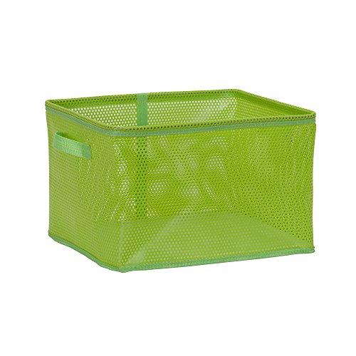 Grün Large Tote (Haushalt Essentials EVA Mesh Aufbewahrungskorb Tote Bin, plastik, grün, Large)