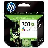 HP 301XL CH564EE Cartuccia Originale per Stampanti a Getto di Inchiostro, Compatibile con Stampanti DeskJet 1050, 2540 e 3050