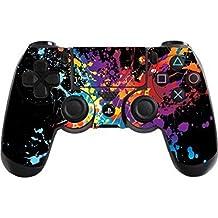 Stillshine PS4 Controller Vinyl Skin Diseñador Piel Pegatina para Sony PlayStation 4 PS4 Slim PS4 Pro DualShock mando inalámbrico x 1 (Paint Splats)
