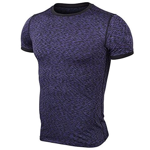 Poids Léger Athlétique Hommes Running T-Shirt Pour Hommes L
