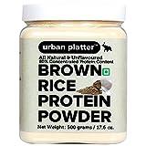 Urban Platter Brown Rice Protein Powder, 500g