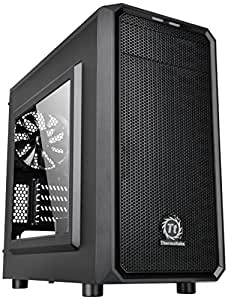 Thermaltake Versa H15 M-ATX Gaming Case with Side Window USB 3 and Black Interior