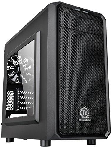 Thermaltake Versa H15 PC-Gehäuse mit Fenster schwarz