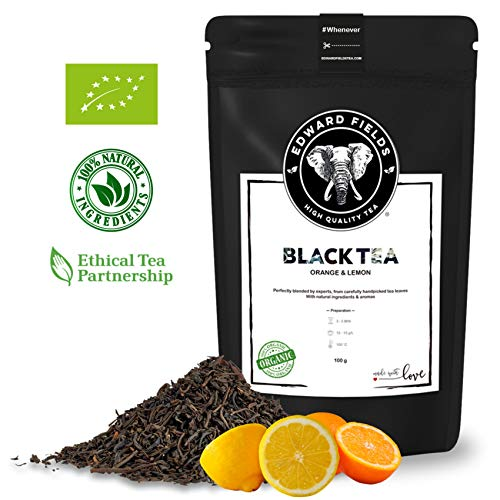 Edward Fields - Té Negro Orgánico alta calidad Naranja