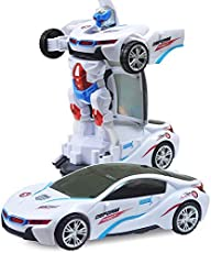 Convertible Robot Toy from Car to Transformer for Kids
