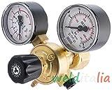 Druckminderer Argon und Mischung AR/CO2MIG TIG 300bar Pressluftflasche Akku